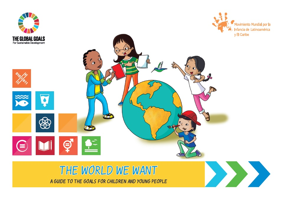 "Booklet ""The World We Want"""