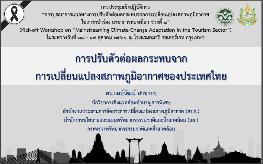 Climate Change Adaptation and Tourism