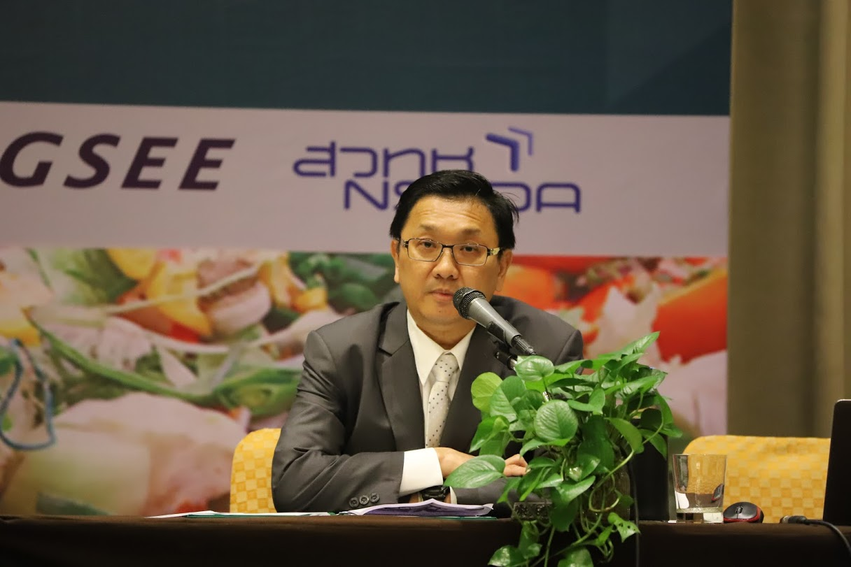 Assoc. Prof. Thongchai Suwansichon, Director of Agriculture Section of Thailand Research Fund (TRF)
