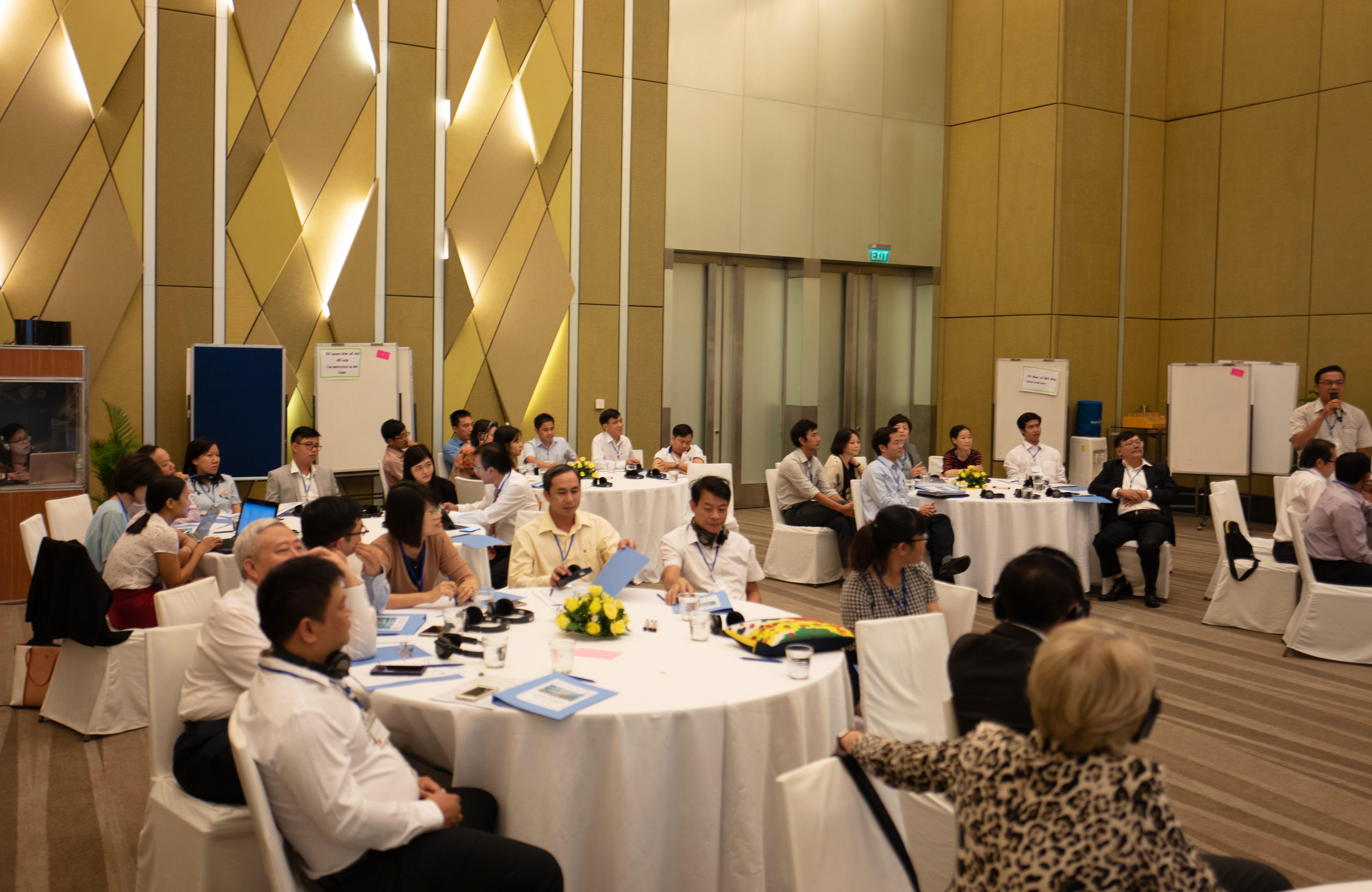 Urban Nexus Training and Training of Trainers to improve urban development in Vietnam