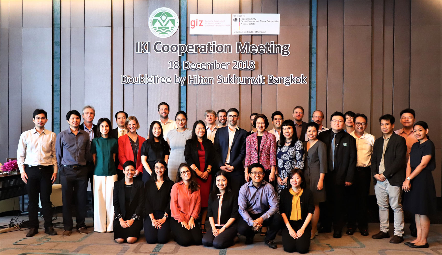 Strengthening cooperation to tackling climate change for IKI-funded projects Thailand