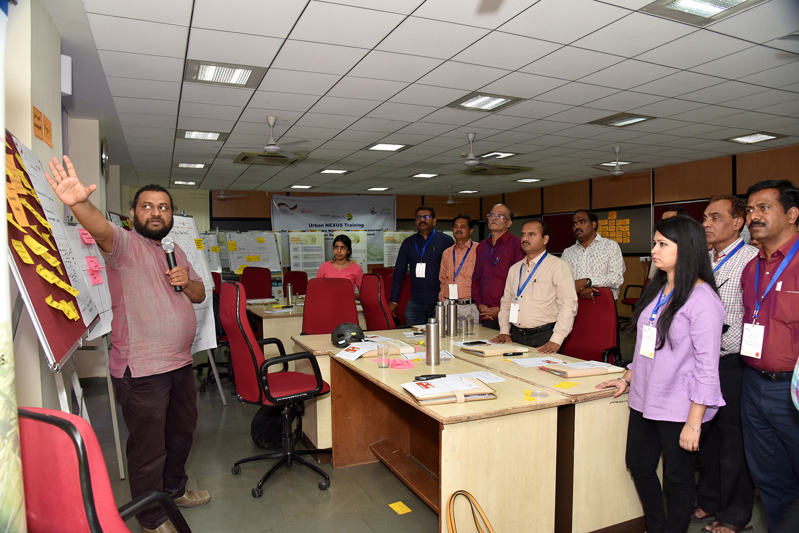Indian Academia adopts Urban Nexus approach in their teamwork and coordination amongst institutions