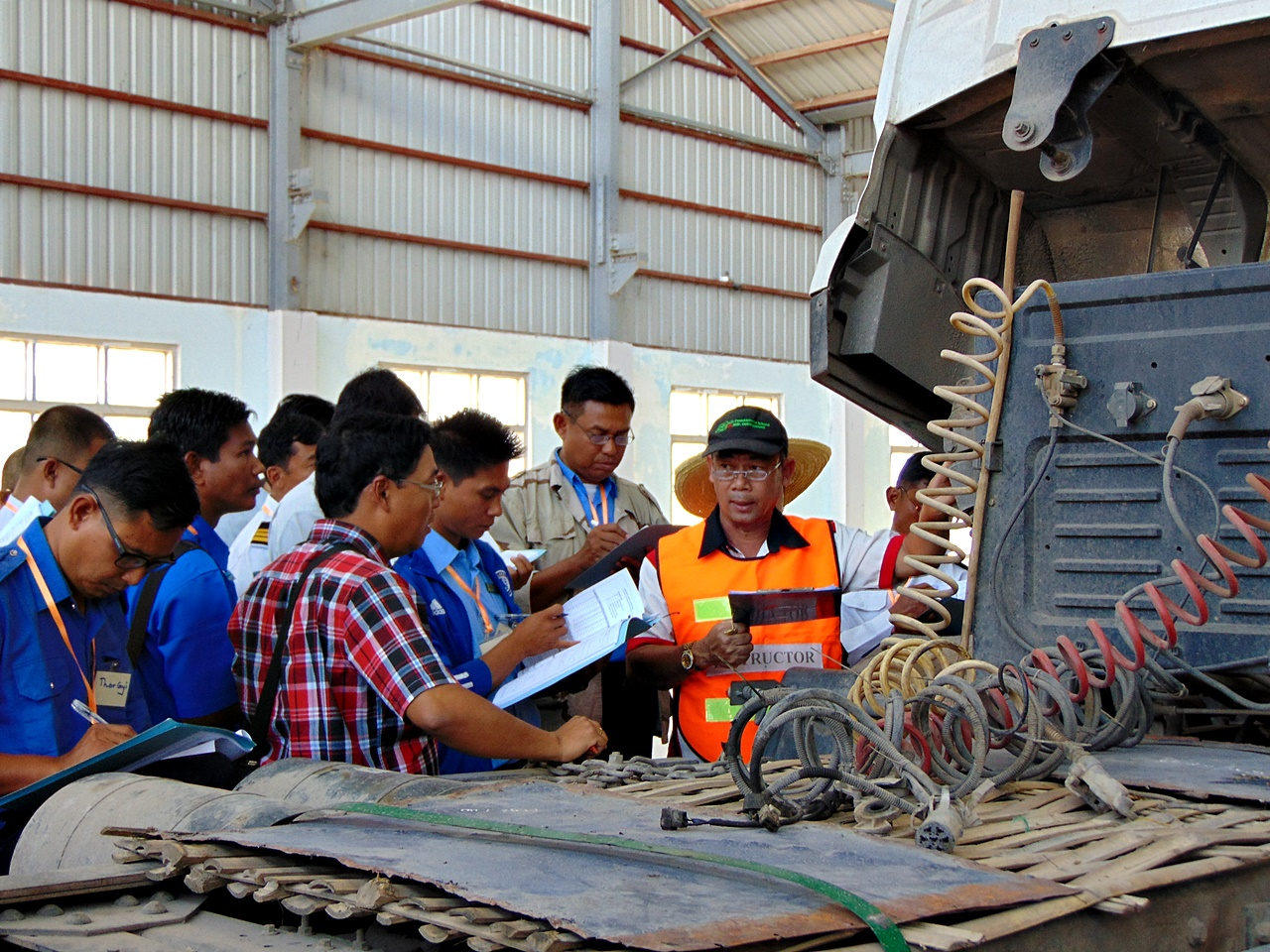 The First Training for the Trainer on Eco and Defensive Driving for Truck launched in Myanmar