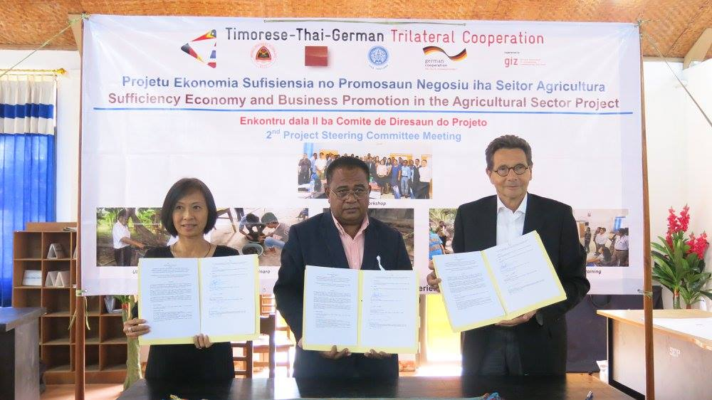 The Thai-German Cooperation Programme Held the 2nd Project Steering Committee Meeting in Timor-Leste