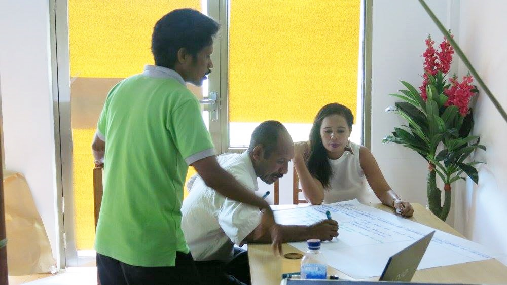 The Thai-German Cooperation Programme Organised a Curriculum Development Workshop for Extension Workers in Timor-Leste