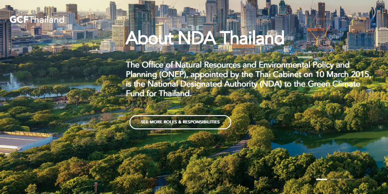 Green Climate Fund Thailand website launched