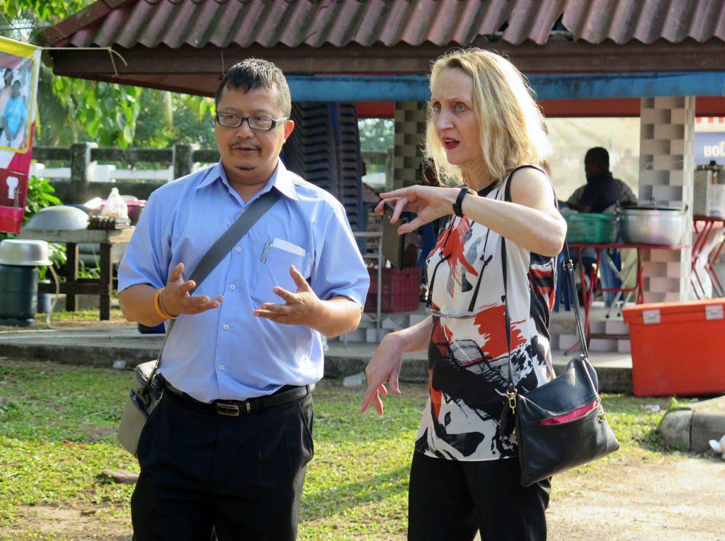A Visit of GIZ CEO: Mrs  Cornelia Richter, at EcosWat