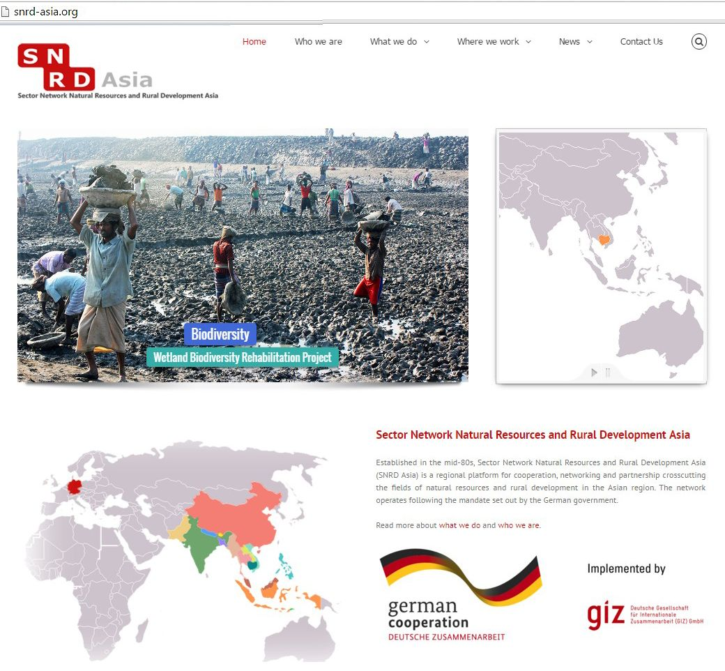SNRD Asia: New Website Launch!