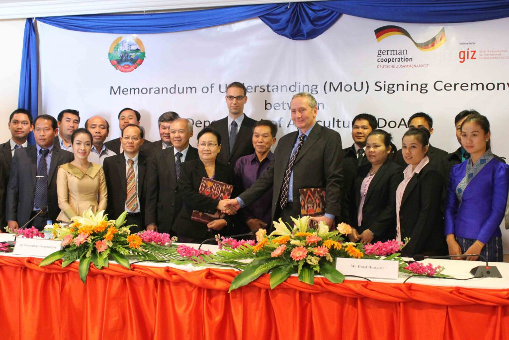 Germany Supports Sustainable Agrifood Systems in Laos