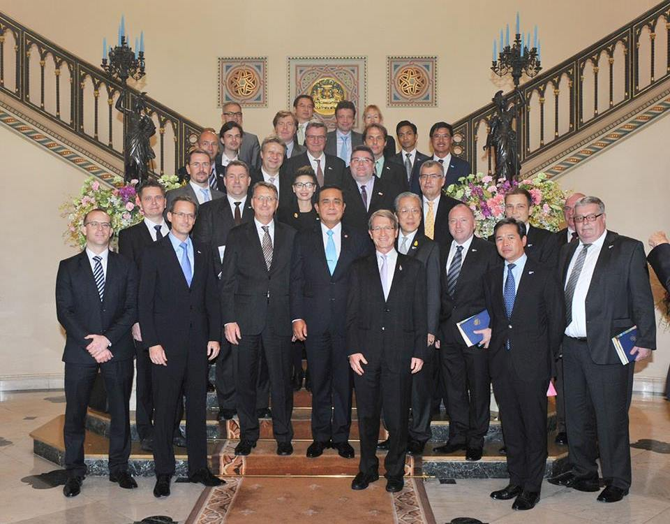 German Business Community Meets Prime Minister