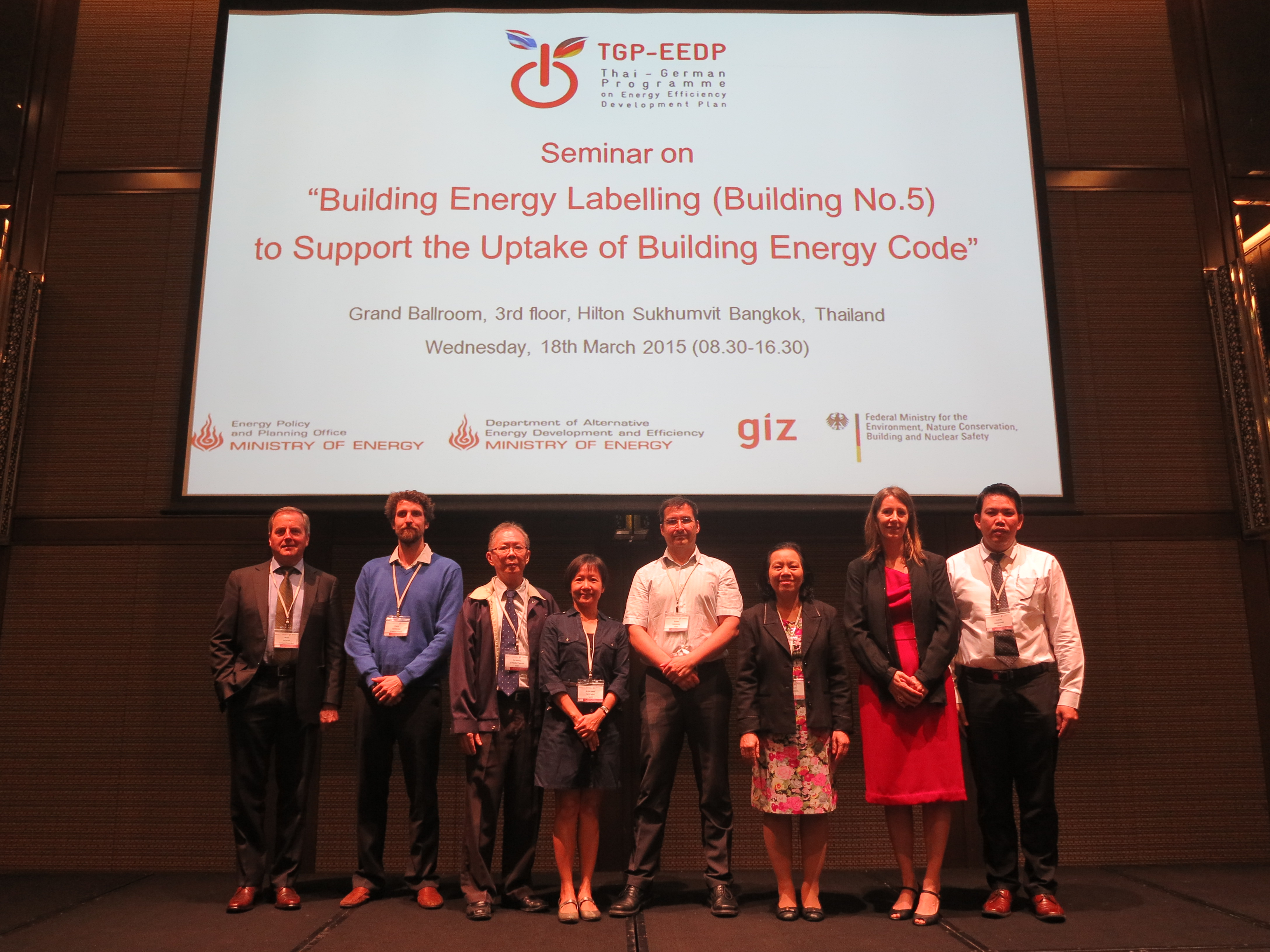 "Seminar on ""Building Energy Labelling (Building No.5) to Support the Uptake of Building Energy Code"""
