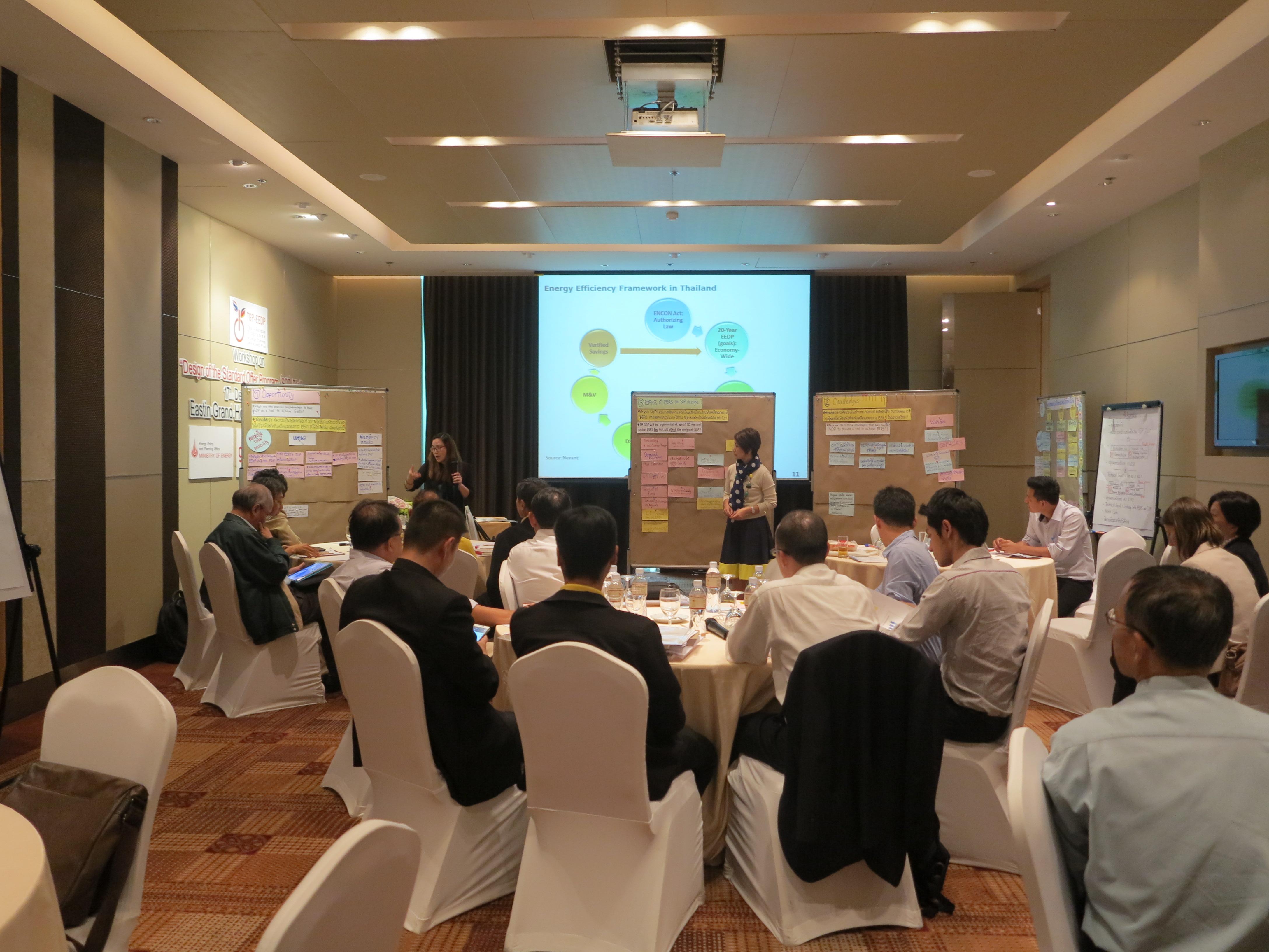 Workshop on Design of the Standard Offer Program (SOP) Pilot