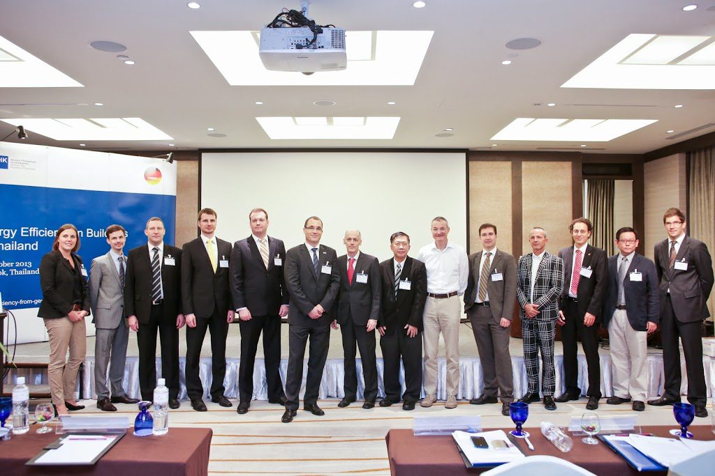 German-Thai Technology Conference on Energy Efficiency in Buildings in Thailand