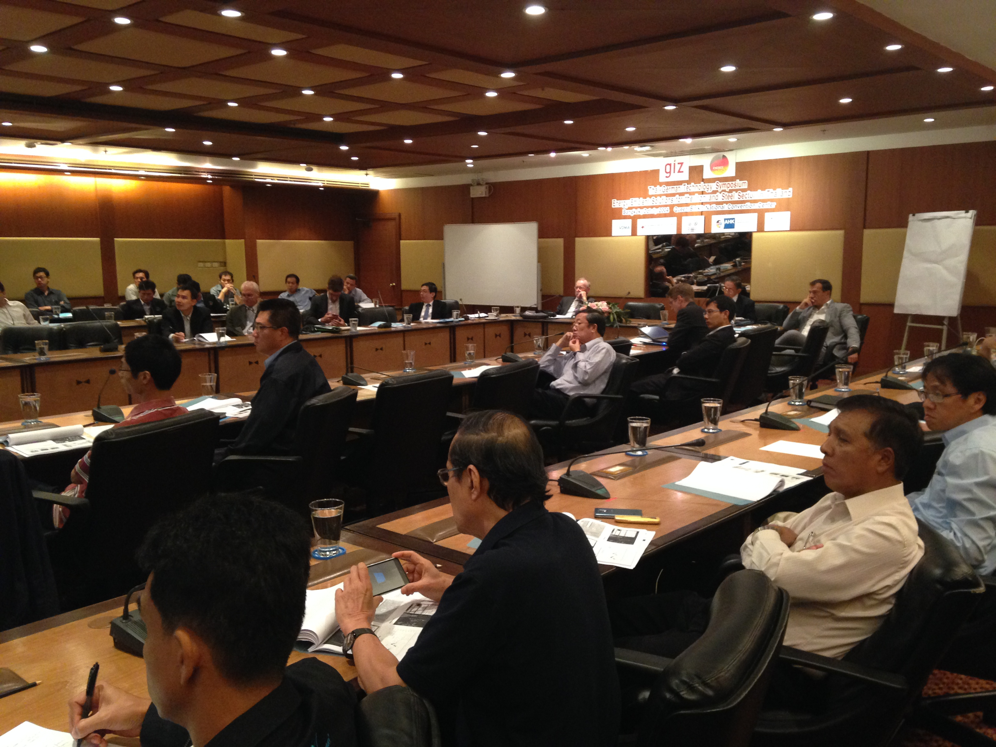 Thai-German Technology Symposium on Energy Efficient Solutions for the Iron and Steel Sector in Thailand