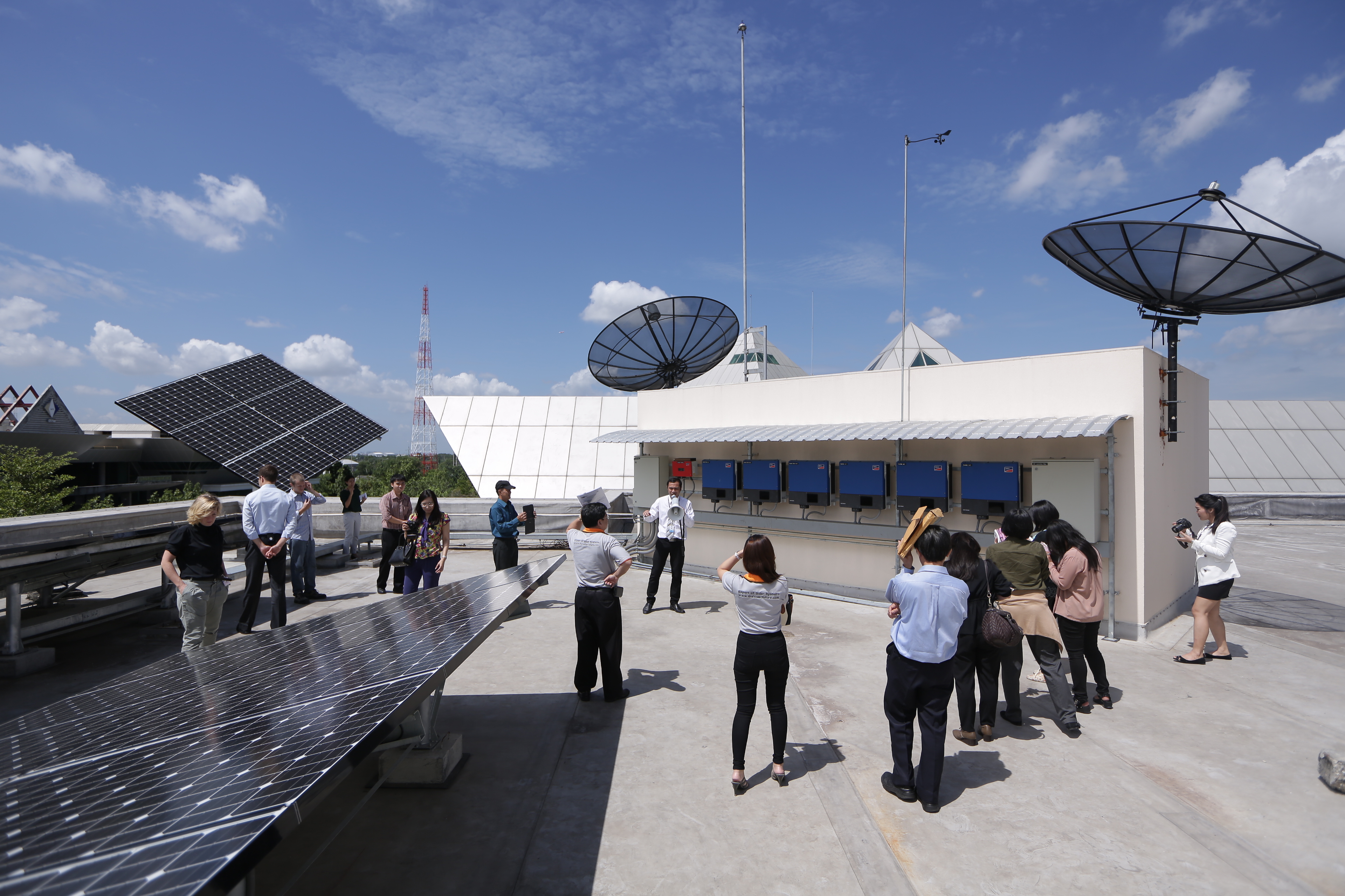 Thai-German Solar Training Week (TGSTW) and Conference on Grid-Connected Photovoltaic in Thailand