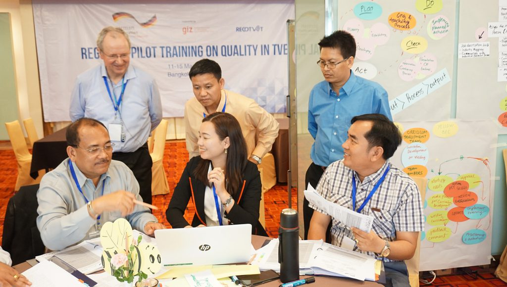 ASEAN Community of Practitioners upgrade skills of Technical and Vocational Education teachers to address Industry 4.0