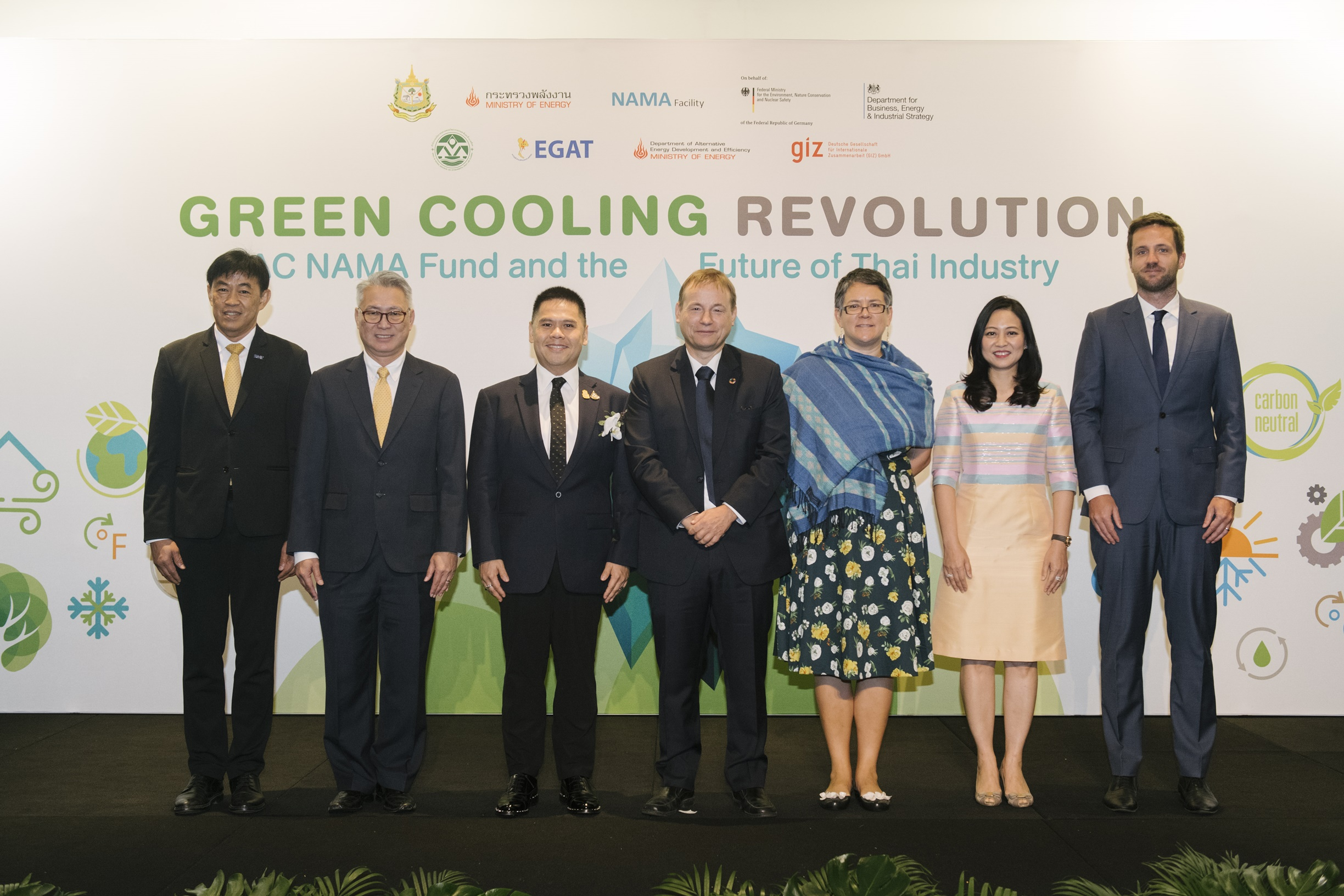 EGAT – MoNRE - GIZ hail achievement of RAC NAMA Fund, push for Thai refrigeration and air-con energy saving to reduce global warming