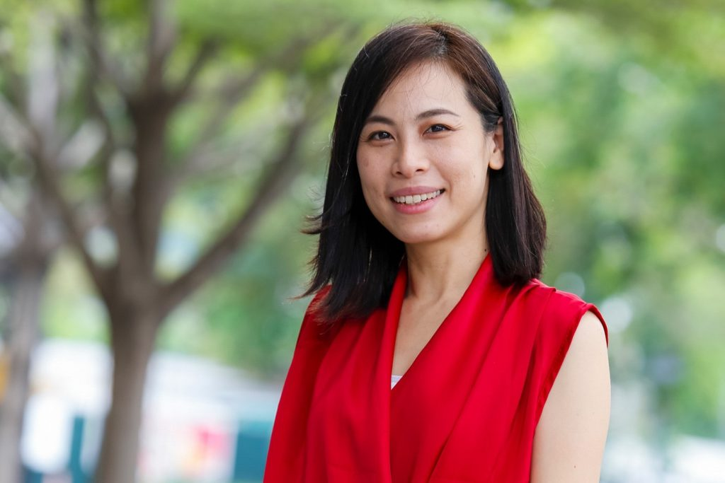 Kanokwan Saswattecha, Project Manager for the Sustainable and Climate-Friendly Palm Oil Production and Procurement (SCPOPP) in Thailand (Photo credit: GIZ Thailand)